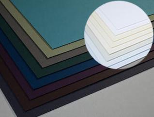 Цветни и структурни хартии и картони