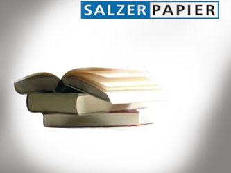 Обемна хартия Aura extra white от Salzer, Австрия